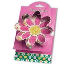 New listing Sale! Ann Clark Flower Tin Plated Steel Cookie Cutter W/Recipe