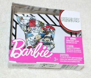 Barbie Doll Clothes Cartoon Shirts & Headband Tiara Sunglass & Purses Packs New