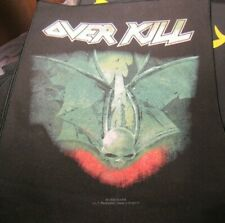 Overkill Back Patch New Rare Collectable Woven English Import Backpatch