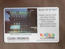 Hotel Key used - Casino Innsbruck Oostenrijk