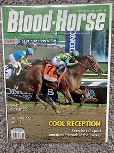 KEEN ICE Defeats American Pharoah Blood Horse Magazine 2015 Travers Rare & OOP