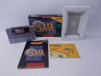 Illusion of Gaia (Super Nintendo, SNES, 1994) CIB Complete w/box, Manual & Map