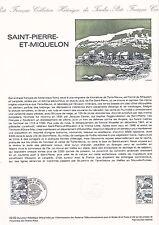 Document Philatélique Timbre 1er Jour : 09/01/ 1982 - Saint-Pierre et Miquelon