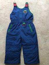 NWT Gymboree 12 18 24 mos KING OF COOL Baby Boy Blue Ski Snow Pants Bib Overalls