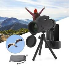 Monocular Telescope Phone Camera Zoom Starscope Hiking Hunting Tripod Full HD
