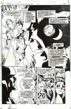Justice League Of America #2 Page 34 Original Art JLA Captain Marvel Splash
