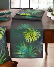 Tischläufer Deep Jungle 40x140cm, Tischdekoration, grün, Dschungel