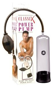 Classix Power Pump, Adult Male Penis Erection Enhancer Enlarger Couple Foreplay