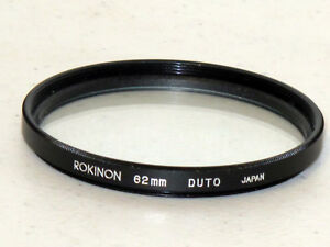 62mm Rokinon DUTO (Soft Focus) Filter Excellent+++    #62602st