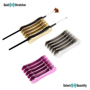 Nail Art Brush Holder UV Acrylic Gel Pen Pot Cleanser Cup Bottle Tool GD | UK