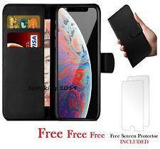 iPhone 6 Case Cover Flip Wallet Leather Magnetic Luxury PLUS Screen Protector