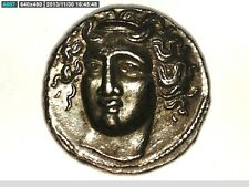 GREECE GREEK THESSALY LARISSA HORSE DRACHM OR HEMIDRACHM RARE COIN PERCY JACKSON