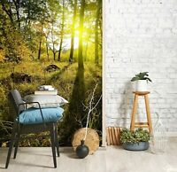 3D Entrance Sunlight R545 Wallpaper Wall Mural Self-adhesive Commerce Amy