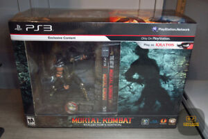 Mortal Kombat Kollector's Edition (PlayStation 3, PS3 2011) FACTORY SEALED!