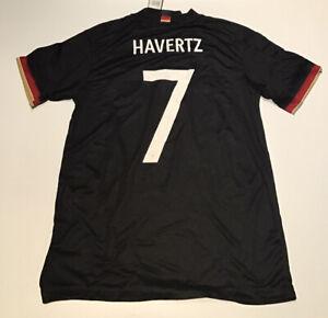 Germany Away Jersey 2020 Euros Adidas Black M-L NWT #7 Havertz