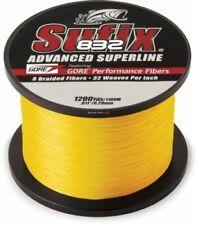 Sufix 832 Braid Fishing Line 3500 Yds, 80 Lb., Hi-Vis Yellow