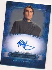 2016 Star Wars Masterworks Rohan Nichol Captain Antilles Autograph Auto (F)