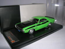 Dodge Challenger ta 1970 Vert PremiumX Prd407j 1 43 Echelle