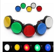 5 Colores LED Luz Lámpara 60mm reproductor de video juego arcade Redondo interruptor de botón
