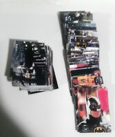 Batman Returns Movie Trading Cards Lot of 150 1992 Not Complete Set
