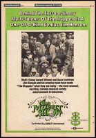THE MUPPET SHOW__Original 1975 Trade AD / TV promo / poster__JIM HENSON__KERMIT