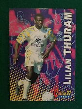 #049-PARMA /& FRANCE-MONACO-LILIAN THURAM PANINI EUROPEAN FOOTBALL STARS 1997