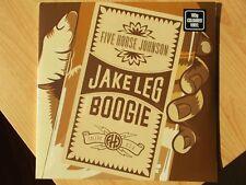 FIVE HORSE JOHNSON LP: JAKE LEG BOOGIE (2017, NEU; 180GRAM;COLOURED VINYL)