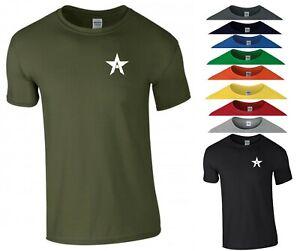 Captain America T Shirt Pocket A Logo The Falcon Superhero Gym Gift Kids Tee Top