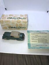 Buby Collectors Classics 1946-48 Lincoln Continental Top Up Argentina 1/43 Green