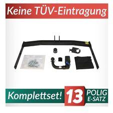 Für Volkswagen VW Touran I 1T 03-15 Kpl. Anhängerkupplung abnehmbar+E-Satz 13p