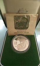 Willie: Australia Numbat Proof Silver with COA
