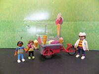 Playmobil 5962 Summer Fun Ice Cream Vendor Complete EUC