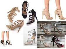 Anne Michelle Strappy Heels #Newbee-44