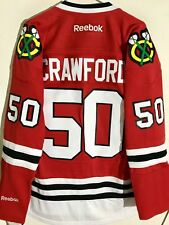 Reebok Premier NHL Jersey Chicago Blackhawks Corey Crawford Red sz L