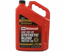 Genuine Ford Fluid XO-5W20-5Q3SP SAE 5W-20 Premium Synthetic Blend Motor Oil New