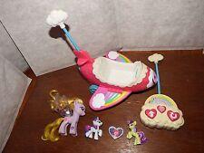 RARE telecomando My Little Pony Aeroplano Aereo Figura Giocattolo Playset MUSICAL