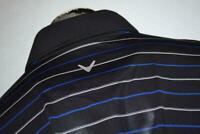 15275-a Mens Callaway Golf Polo Shirt Polyester Size 2XL Black