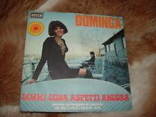 """DOMINGA """" DIMMI COSA ASPETTI ANCORA """" UN DISCO PER L' ESTATE'70   ITALY'70"""