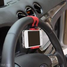 Car Steering Wheel Mount Holder Stand For Nokia N97 N95 BB Z10 Galaxy S7 Nexus 4