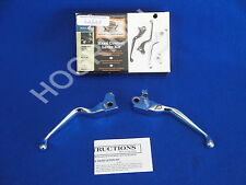 Harley vrod v rod vrsc handlebars chrome hand controls levers set 46114-07