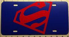 SUPERMAN License Plate Tough ABS Tag
