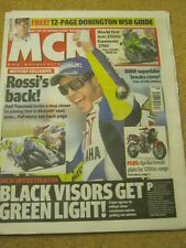 MCN - MOTORCYCLE NEWS - ROSSI'S BACK - 28 March 2007