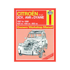 [0196] Citroen 2CV Ami Dyane 425 435 602cc Petrol 67-90 (up to H Reg) Haynes Man