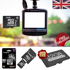 32GB Micro SDHC Class 10 Memory Card for Dash Cams In-Car Video Camaras.