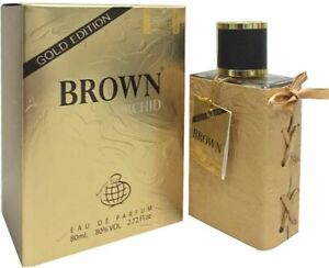 Brown Orchid Gold Edition + Free Deo   EDP 80ml   by Fragrance World