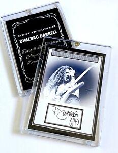 "Dimebag Darrell Collector's Case ""Rest In Power"" Pantera / Damageplan"