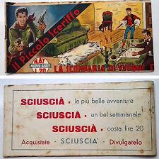 Striscia IL PICCOLO SCERIFFO IIª Serie N 87 TORELLI 1953