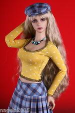 ☆~POLKA yellow DOTS~☆T-Shirt~for Jessica [EID IPLEHOUSE]~BJD doll~by Anita