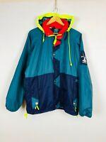 Vintage HELLY HANSEN 90s Rain Windbreaker Men's Jacket Size M