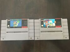 Super Mario World + Mario Paint - SNES Super Nintendo Games